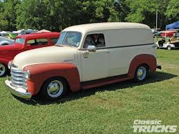1947 Chevy Panel With Newer Mirrors. Still A Very Nice Truck ...