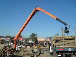 Truck-mounted Forestry Crane / Knuckle Boom - 257A Series ...