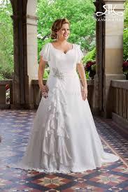 popular beach chiffon short wedding dress plus size buy cheap