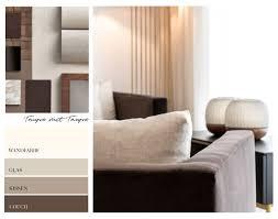 taupe kombinieren welche farben passen 5 wohnideen hoaté