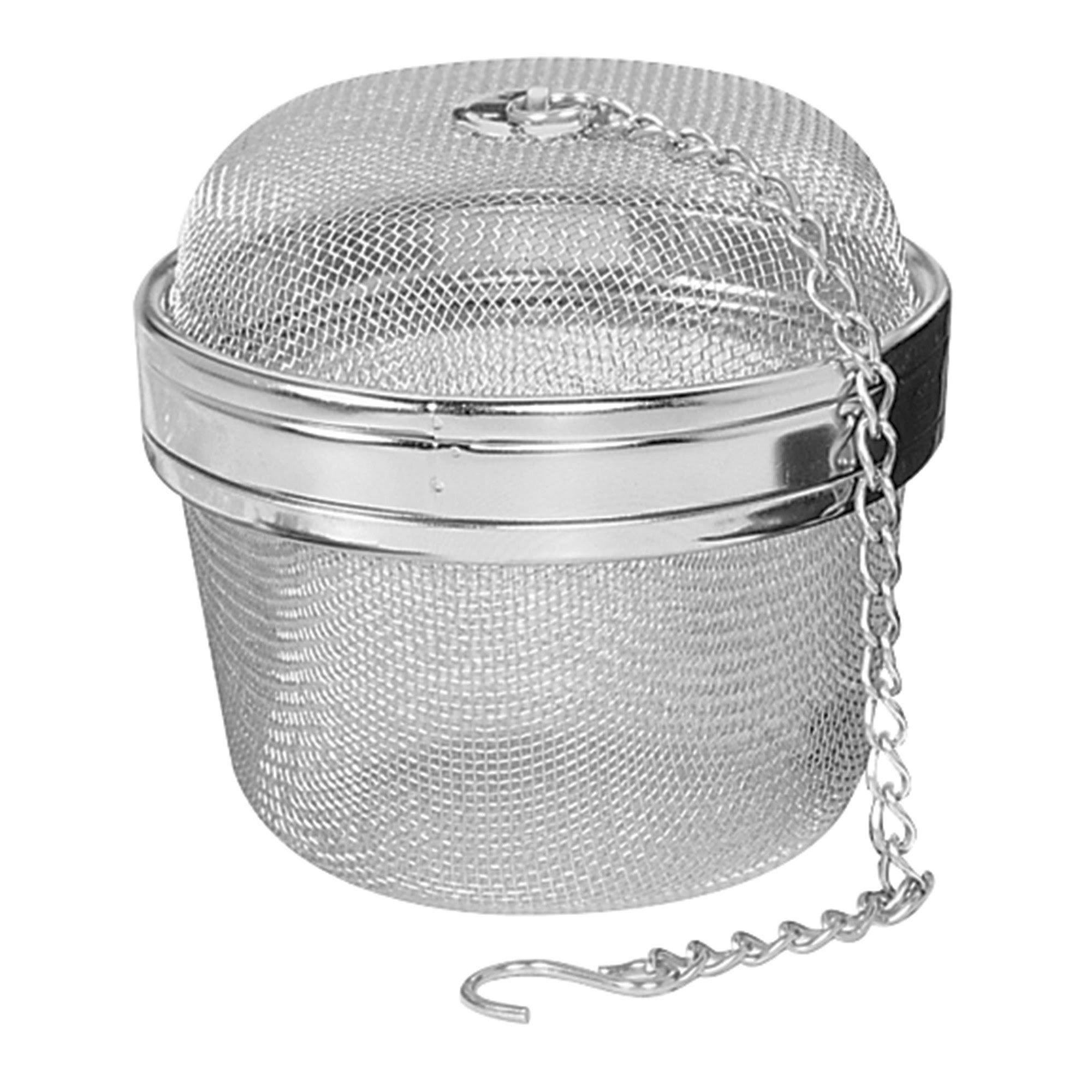 "Fox Run 3"" Stainless Steel Teaball"