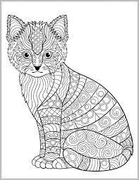Cat Stress Relieving Designs Patterns Adult By LiltColoringBooks