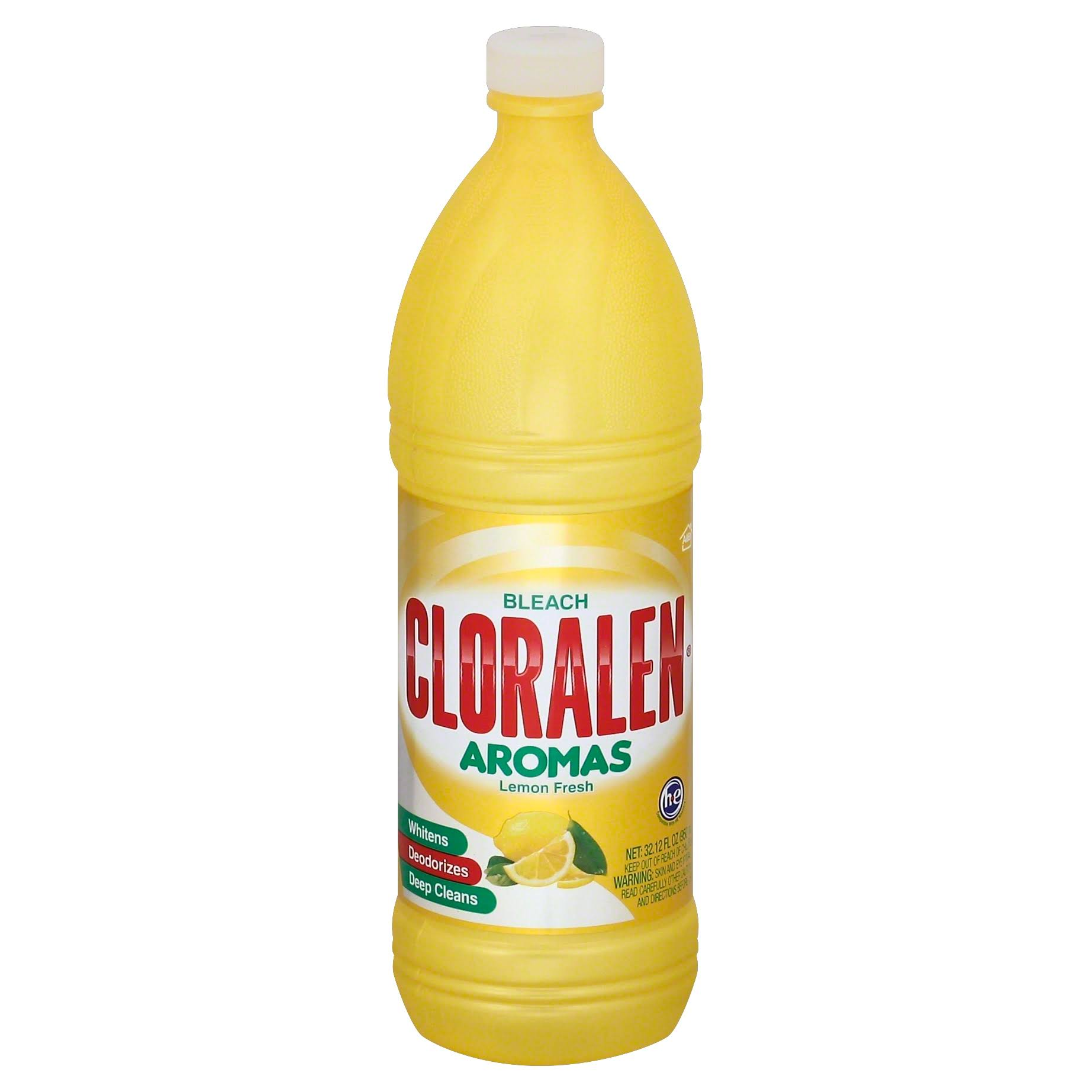 Cloralen Aromas Bleach, Lemon Fresh - 32.12 fl oz