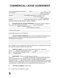 100 Commercial Truck Lease Agreement Free Rental Templates PDF Word