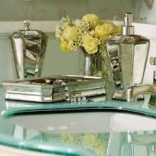 Bella Lux Mirror Rhinestone Bathroom Accessories by Vintage Mirrored Mosaic Bathroom Accessories Useful Reviews Of