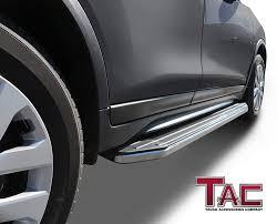 100 Side Rails For Trucks TAC Running Boards For 20092015 Honda Pilot SUV Aluminum Black