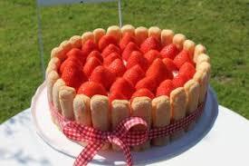 last minute muttertags torte mit erdbeeren no bake
