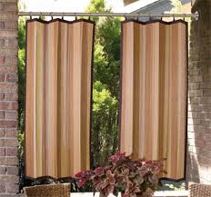 create elegant outdoor rooms with simple patio curtains