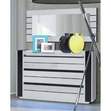 commode chambre adulte design commode lina led blanche et laquée design commode pour