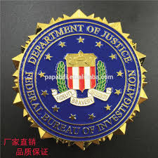 department of justice federal bureau of investigation badge buy