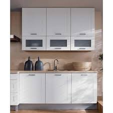 küche 180 cm weiss matt mdf rahmen erweiterbar