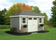 this 10x12 backyard storage shed was built by the perrys using my
