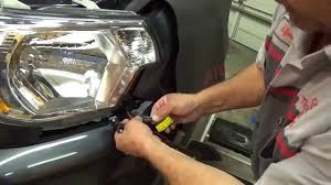 2012 2015 toyota tacoma led daytime running light kit preview