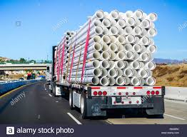 100 Usa Truck December 2 2018 Los Angeles CA USA Transporting White
