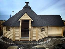 100 Log Cabin Extensions 165 M2 BBQ Hut With Extension Barbecue Huts In 2019 Bbq Hut