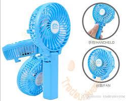 Battery Operated Desk Fan Nz by Best Rechargeable Fan Portable Handheld Mini Fan Battery Operated