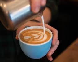Small Street Espresso Latte Art At Its Best