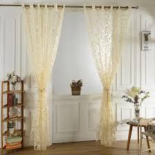 2pcs 100 250cm beige rideaux de séparation design moderne demi