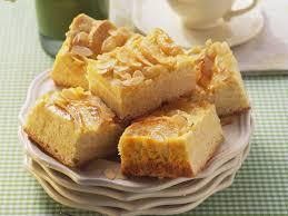 apfel quark kuchen mit mandeln