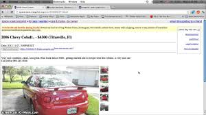 Craigslist Titusville Florida Used Cars, Trucks, Vans And SUVs - For ...