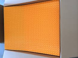 Warm Tiles Easy Heat Instructions by Ditra Heat Uncoupling Membrane Dh5ma Schluter Amazon Com