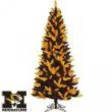 6 Black And Yellow Pittsburgh Steelers Tree