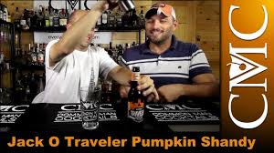 Travelers Pumpkin Beer by Jack O Traveler Pumpkin Shandy Review Youtube