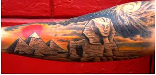 Egyptian Tattoos Are Incomplete Without The Mention Of Pyramids One Interesting Aspects These Is That They Can Be Imprinted On Any Part