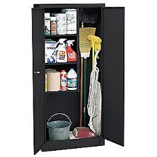 sandusky lee janitorial storage cabinet welded 24 ga 5dcw5