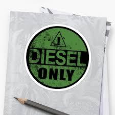 Diesel Truck Sticker Style