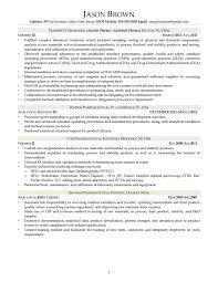 Resume Example Research Data Analyst