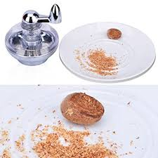 Nutmeg Spice Grinder Manually Rotated Mill With Grinding