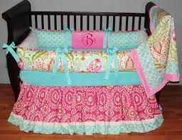 cute nursery bedding baby crib skirts baby girl floral bedding
