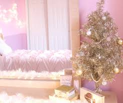 The Last Little Section Of My Room I Decorated Is Favorite Displaying Gold Christmas Tree Bought This At Target And Love It