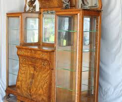Curved Glass Curio Cabinet Antique by Cabinet 2017 Build Your Own Buffet Cabinet Hypnotizing 2017
