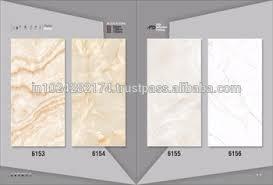 carrara white marble vitrified micro porcelain tiles 6155