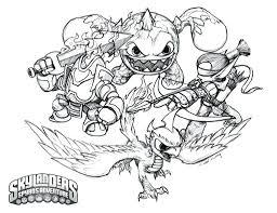 Skylanders Free Printable Coloring Pages Great To Print About Remodel Spyros Adventure Book Walmart Full