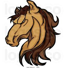 Angry Horse Clipart 27