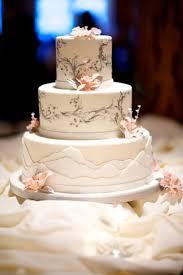 Mountain Inspired Wedding Cake