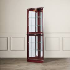 Walmart Corner Curio Cabinets by Furniture Curved Glass Curio Cabinet Curio Cabinets Cheap