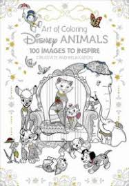 Title Art Of Coloring Disney Animals 100 Images To Inspire Creativity And Relaxation