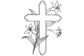 Cross Coloring Pages 720x480