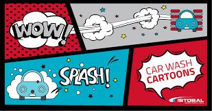 Cartoons Teach Us How To Wash Our Car - Istobal USA
