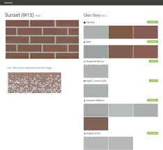 Rust Oleum Decorative Concrete Coating Sunset by Sunset W15 Red Brick Glen Gery Olympic Behr Benjamin Moore