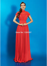 high quality nice evening dress with sleeves buy cheap nice