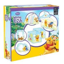 décoration chambre bébé winnie l ourson coffret décoration chambre disney winnie l ourson 10 éléments