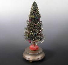 Vintage Christmas Tree Music Box 1930s