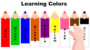 Learning Colors With Color Pencils