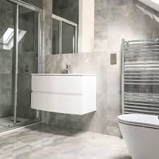 100 Marble Walls Grey Polished Stone Effect Italian Porcelain Wall Floor Tiles 60cm X 60cm