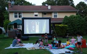 Inflatable Movie Screen - The Big Bounce Theory Outdoor Movie Night Rentals All For The Garden House Beach Projector For Backyard Movies Outdoor Goods Movie Screen Material Home Decoration Diy At Charlottes House Night Righthome 20 Cool Backyard Theaters Entertaing How To Throw A Colorful Studio To Host A Bev Cooks An Easy Sanctuary Home Running With Scissors That Winsome Girl Nights Kickoff